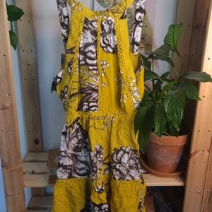 Jaase Anthropologie halter dress